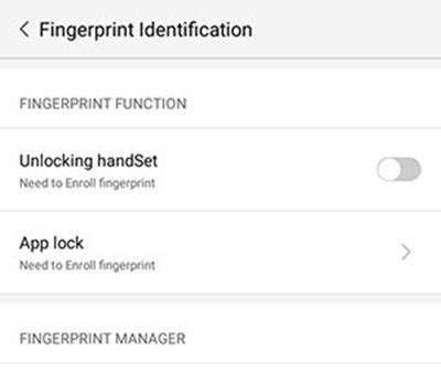 Cara Mengaktifkan Sensor Fingerprint 2 - Cara Mengaktifkan Fingerprint untuk Amankan Aplikasi dan File Penting
