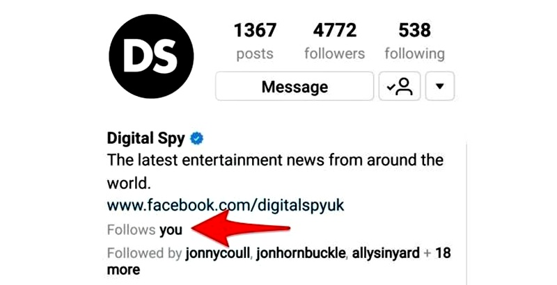"Fitur Follows You Instagram - Instagram Hadirkan Fitur Baru ""Follows You"" di Android"