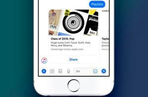 Apple Music Tersedia di Facebook Messenger 300x196 - Keren, Apple Music Tersedia di Facebook Messenger
