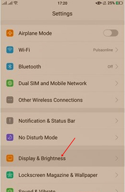 """Cara Aktifkan Perlindungan Mata Bluelight Filter Pada Layar Smartphone 1 - Cara Aktifkan Perlindungan Mata """"Eye Protection"""" Pada Layar Smartphone"""