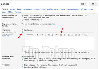 Cara Membuat Tanda Tangan Gambar atau Logo di Gmail 1 - Cara Membuat Tanda Tangan Gambar atau Logo di Gmail