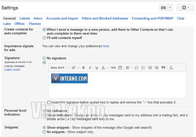 Cara Membuat Tanda Tangan Gambar atau Logo di Gmail 2 - Cara Membuat Tanda Tangan Gambar atau Logo di Gmail