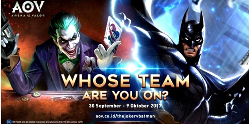Joker di Arena of Valor - Joker di Arena of Valor Bisa Didapatkan Secara Gratis, Ini Caranya