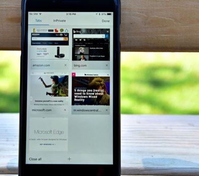 Microsoft Edge di IOS dan Android 395x350 - Microsoft Edge Hadir di iOS dan Android