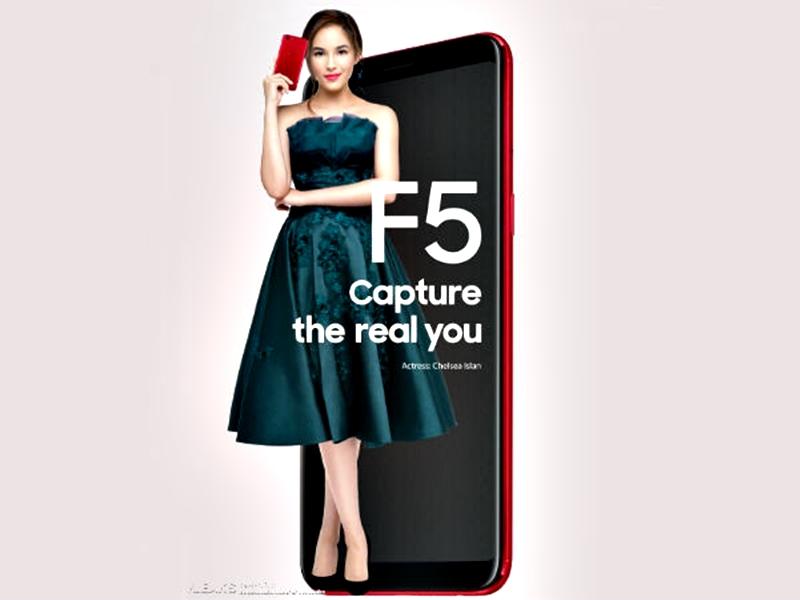 Oppo F5 Siap Dijual di Indonesia 2 - Oppo F5 Siap Dijual di Indonesia, dengan RAM Super Jumbo