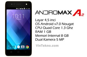 Smartfren Andromax A2 300x196 - Harga Smartfren Andromax A2, Android 4G Murah dengan Baterai Besar