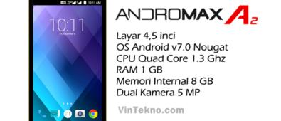 Smartfren Andromax A2 395x170 - Harga Smartfren Andromax A2, Android 4G Murah dengan Baterai Besar