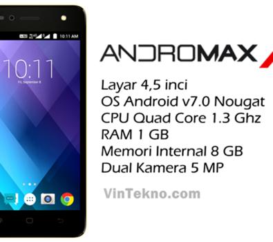 Smartfren Andromax A2 395x350 - Harga Smartfren Andromax A2, Android 4G Murah dengan Baterai Besar