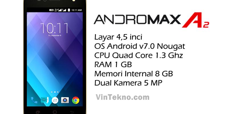 Smartfren Andromax A2 800x400 - Harga Smartfren Andromax A2, Android 4G Murah dengan Baterai Besar