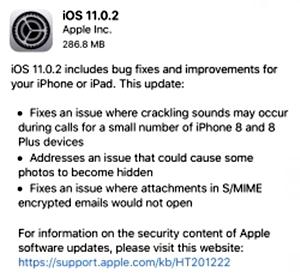 Update iOS 11.0.2 - Apple Kembali Rilis iOS 11.0.2, Apa Saja Pembaruannya?