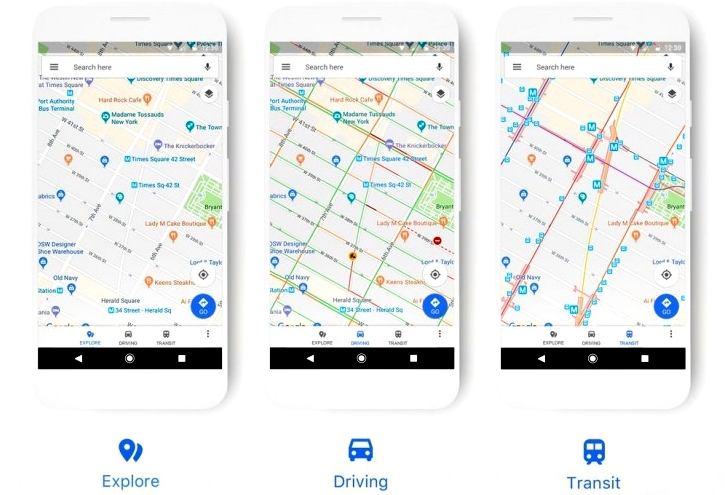 Google Perbarui Tampilan Google Maps